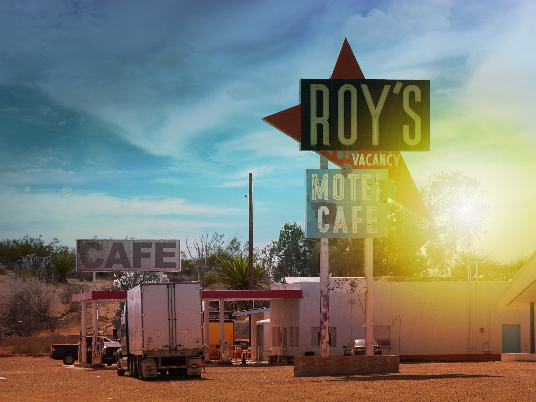 route 66, amboy, ca - out of rosenheim