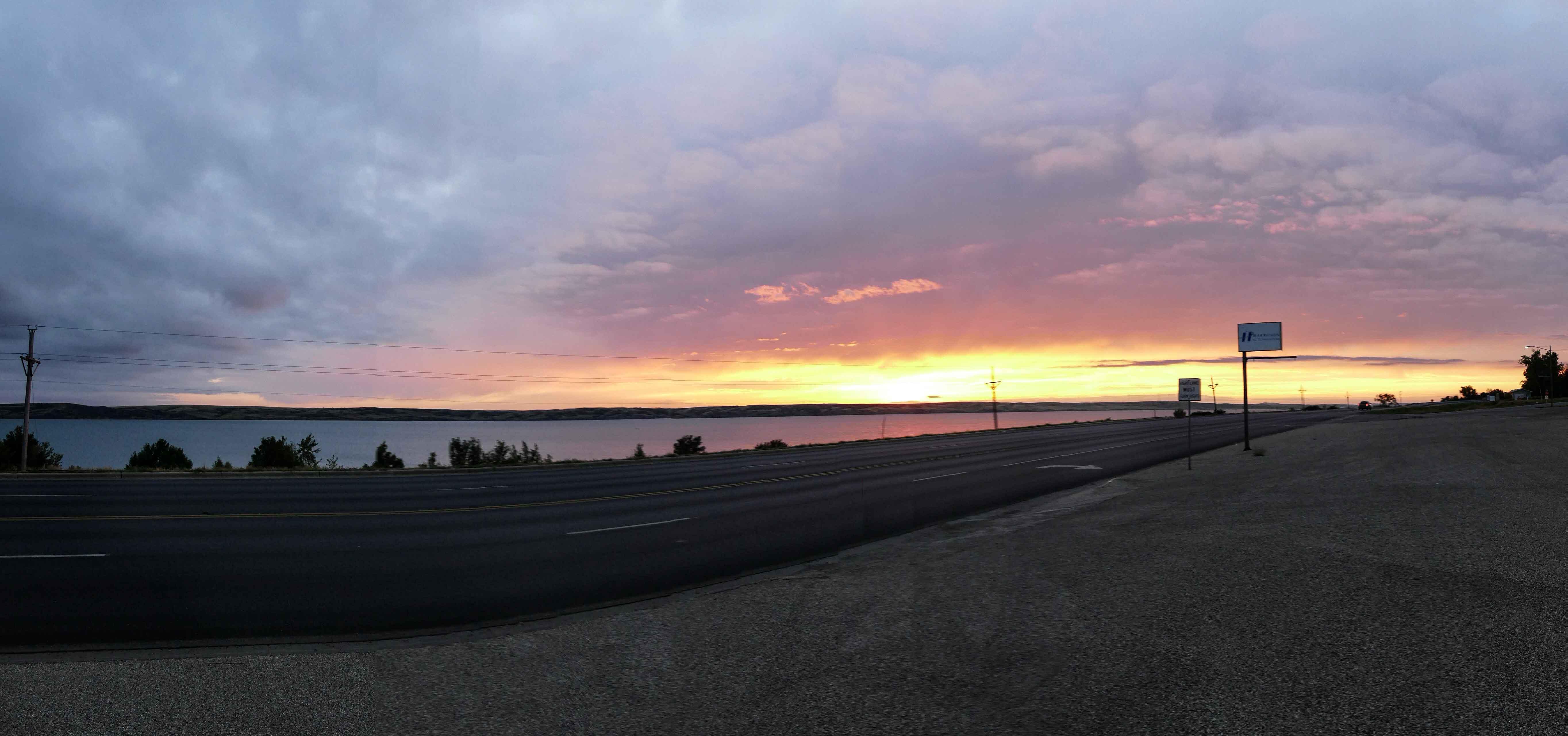 missouri river panorama